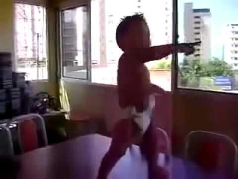 Toddler Dancing Baby Doing The Samba In Brazil