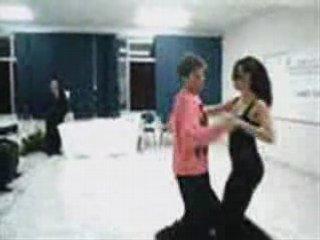 Dancing Brazilian Zouk with Reggaeton music