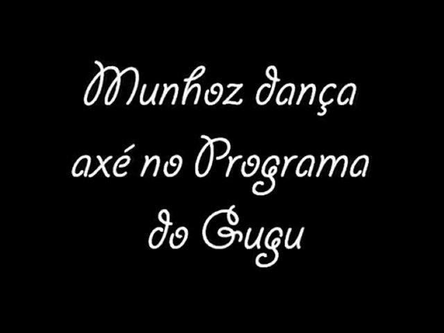 Munhoz Dança Axé no Programa do Gugu
