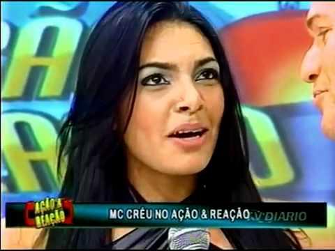 Derlane Silva ex- dançarina do Mc Créu no Programa Ação & Reação do Ênio Carlos.