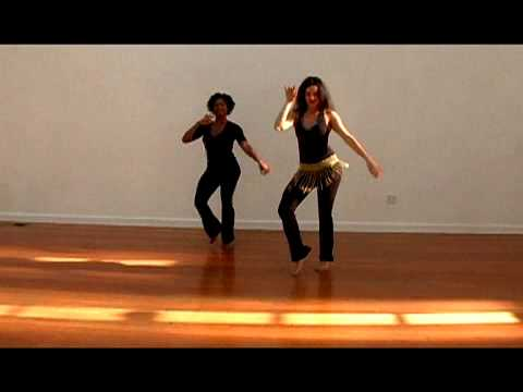 SAMBA RIO STYLE BASIC MOVE, PART 3 of 3: HIP BRAZIL DANCE SHOW WITH VANESSA ISAAC