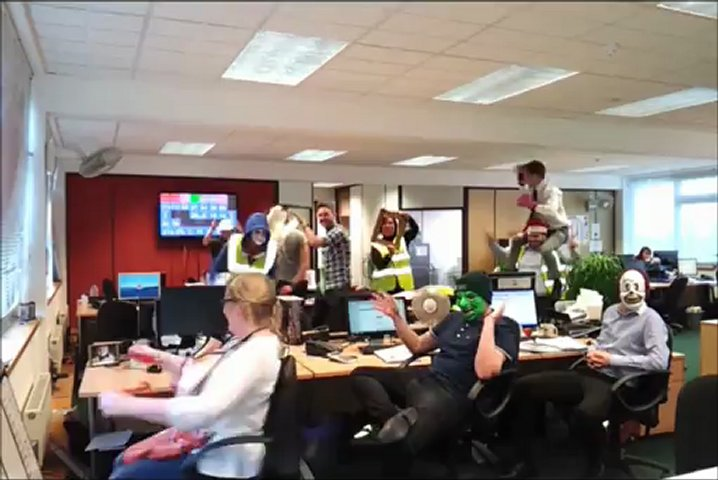 Harlem Shake in the PAL Hire Office