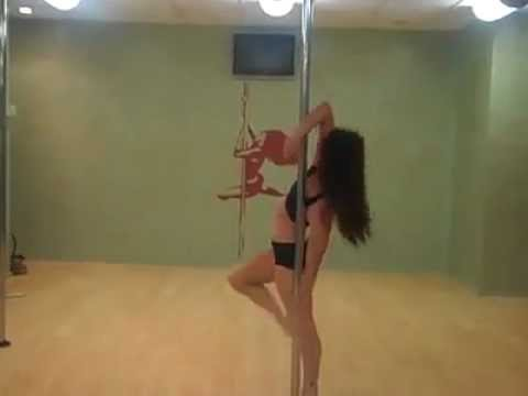 Best Pole Dance Ever!!!  ( sexy girl, amazing pole skills )