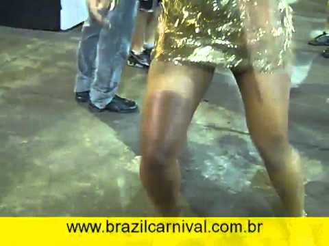 "Energetic Samba: ""Uncut Samba Dancing"" Gilmara Maciel Brazil Dance"