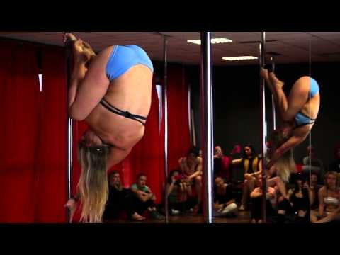 Bendy Kate | Italian Pole Dance Conference 2013