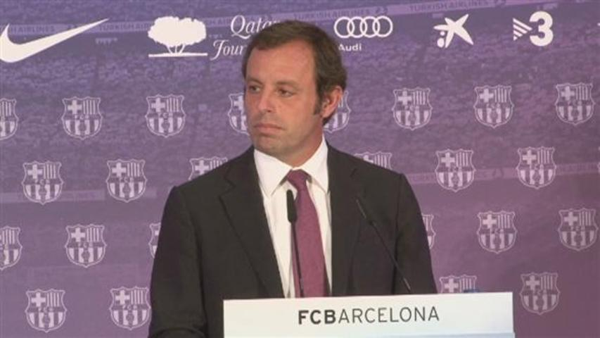 Rosell creu en la no culpabilitat de Leo Messi