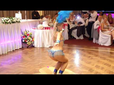 01-12-2012 Joanna & Pawel Wedding sexy brazil girl dance