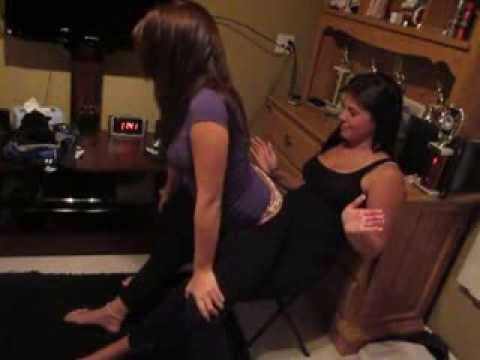 Girl On Girl Lap Dance (Part 2)