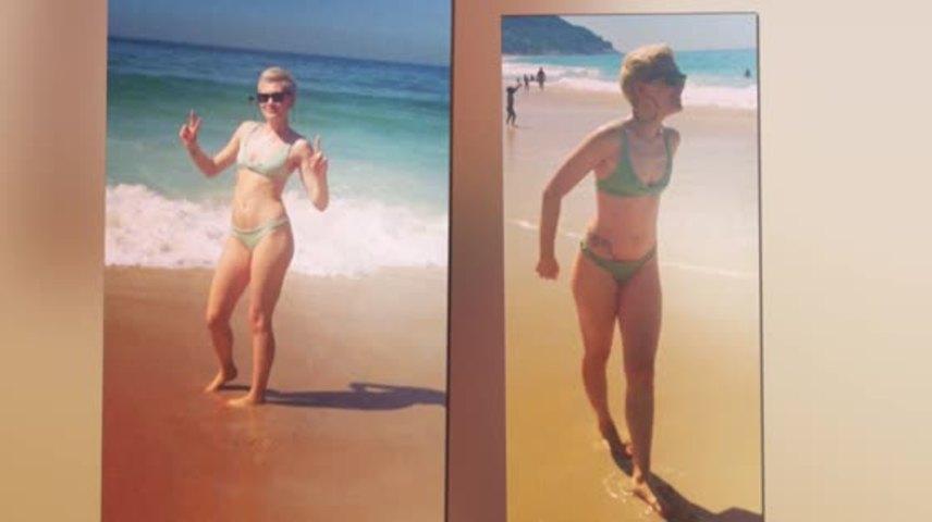 Jessie J Shows Off Her Bikini Body on the Beach in Brazil