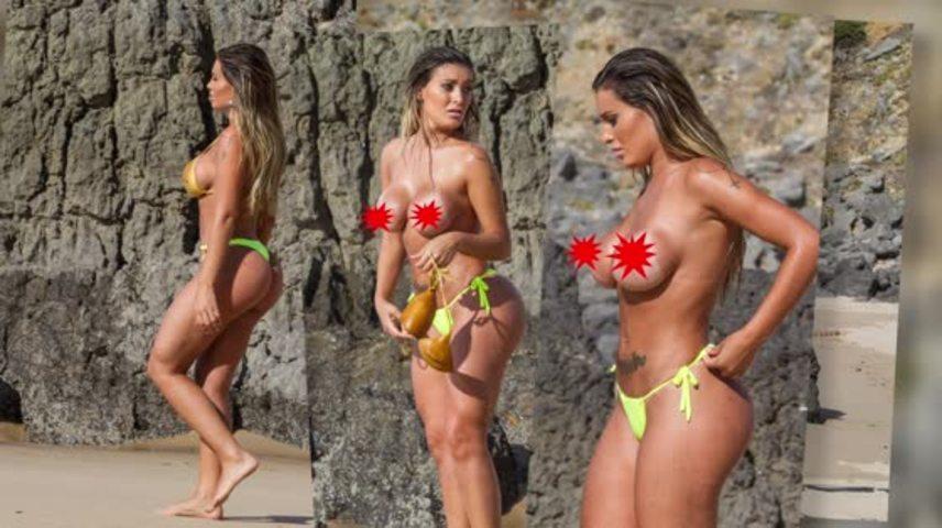 Miss Butt Brazil Runner Up Andressa Urach Goes Topless