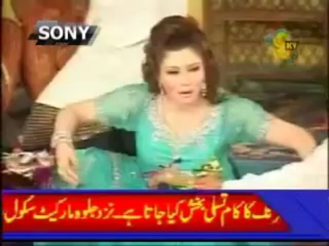 Khushboo Boobs Show Mujra 2013