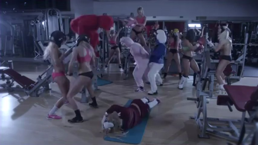 IFITNESS_IS PRESENTS THE HARLEM SHAKE (BIKINI FITNESS EDITION Fitness Workout for Women at Home with music Sexy girls