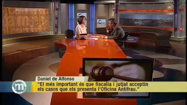 TV3 – Els Matins – Daniel de Alfonso creu que les subvencions no haurien de tenir límit