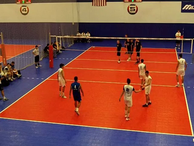Ultimate 17 Blue Match 6 vs Brazil Minas Tenis Clube 17 Game 3 Ultimate Boys Volleyball Club At Great Lakes Center Pre-National Tournament 06-17-2012