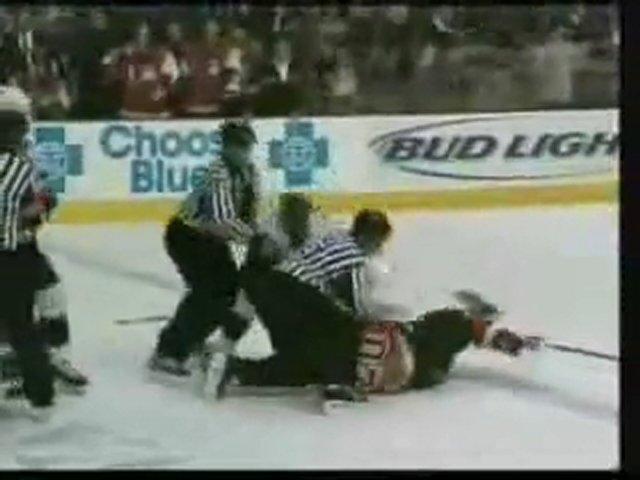 Unbelievable Hockey Fight