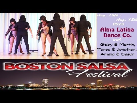 Alma Latina Dance Co. | Boston Salsa Festival 2013 | Bachata Performance (Sat)