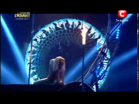 Ukraine's Got Talent – Anastasia Sokolova – Pole Dance (Semi Final)