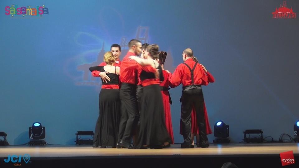 GÖRME ENGELLİLERDEN MÜTHİŞ SALSA SHOW | TARZ DANS | 3.ISTANBUL DANCE FESTIVAL