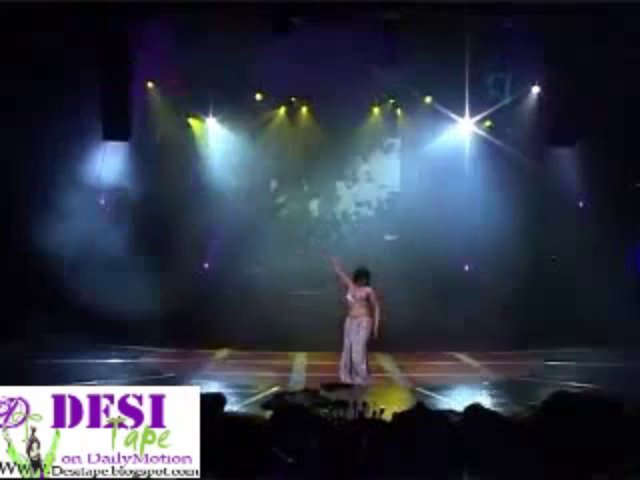 Belly dance by hot arabic belly dancer