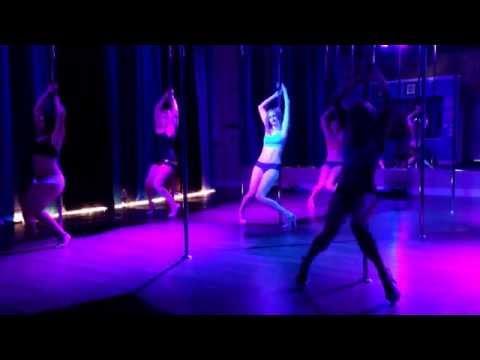 Wiggle – Jason Derulo Beginner Pole Dance Routine 6-9-14