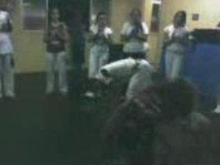 Dandara Bambula visita ao polo do grupo dança e luta 1
