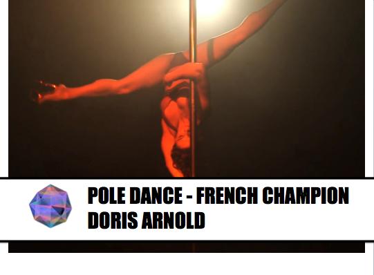 Pole Dance Sexy by Doris Arnold – Championne de France