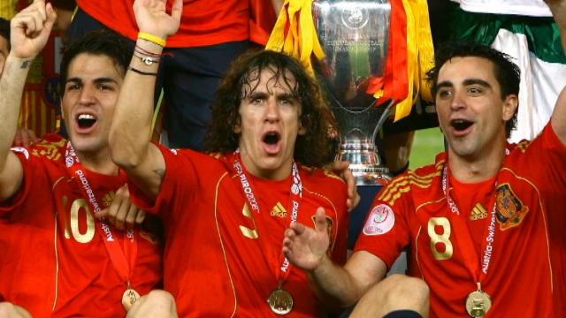Xavi se despede da Seleção Espanhola