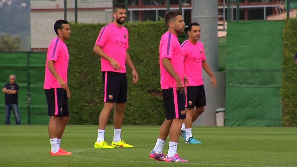 Neymar y Xabi podrían recibir el alta mañana