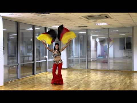 Fan Veil Belly Dance