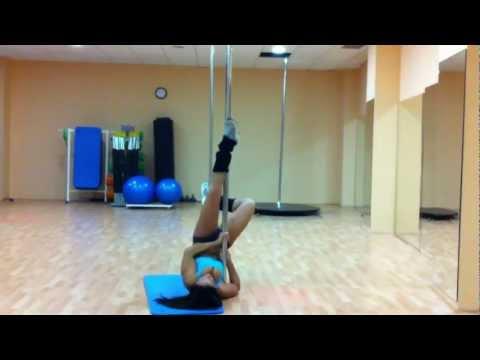 Pole dance Baile con Barra tutorial invertido CON BETTY YEIN