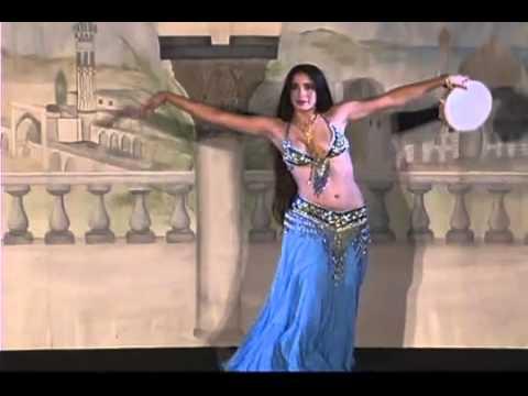 Mia Shauri  Belly Dance with Tambourine