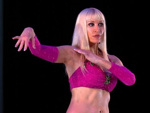 Belly Dance How to: Snake Arms / Arm Wave Move – Belly Dancing – with Neon
