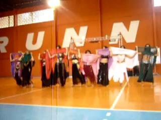 Festival de Ritmos Runner Butantã Club -dança com véu – dança do ventre Ishtar