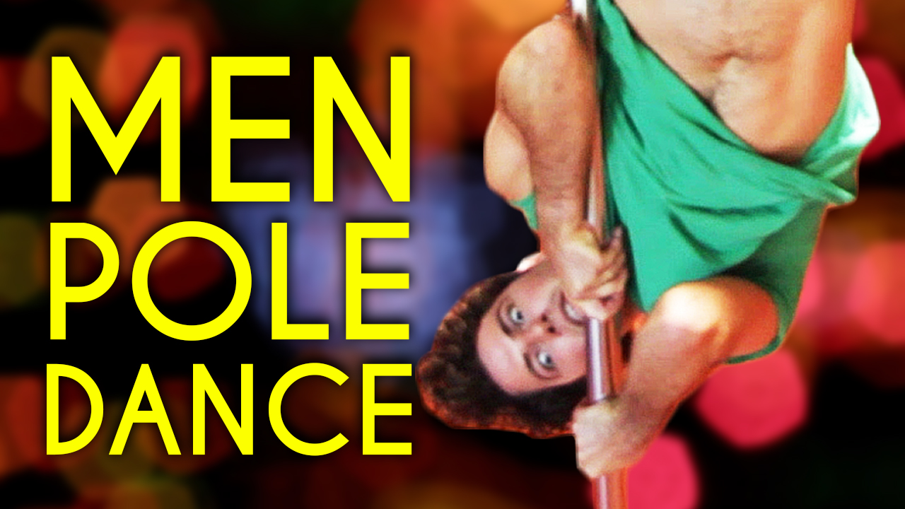 This Is What Happens When Guys Pole Dance For The First Time