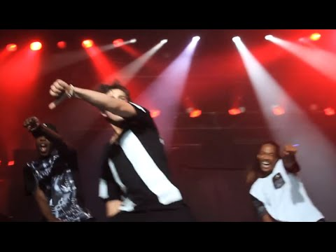 Austin WHIPS it in Brazil (impromptu whip dance)