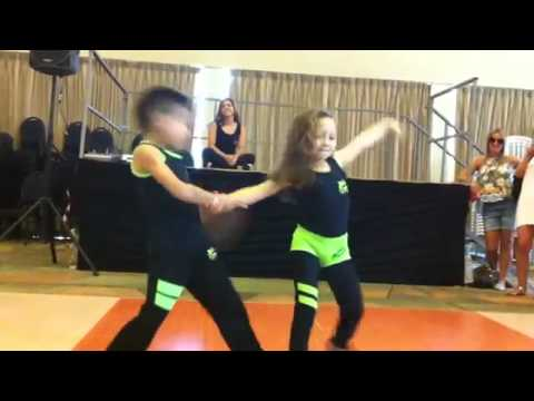 Amazingly talented kids dancing salsa. You won't belive their moves!