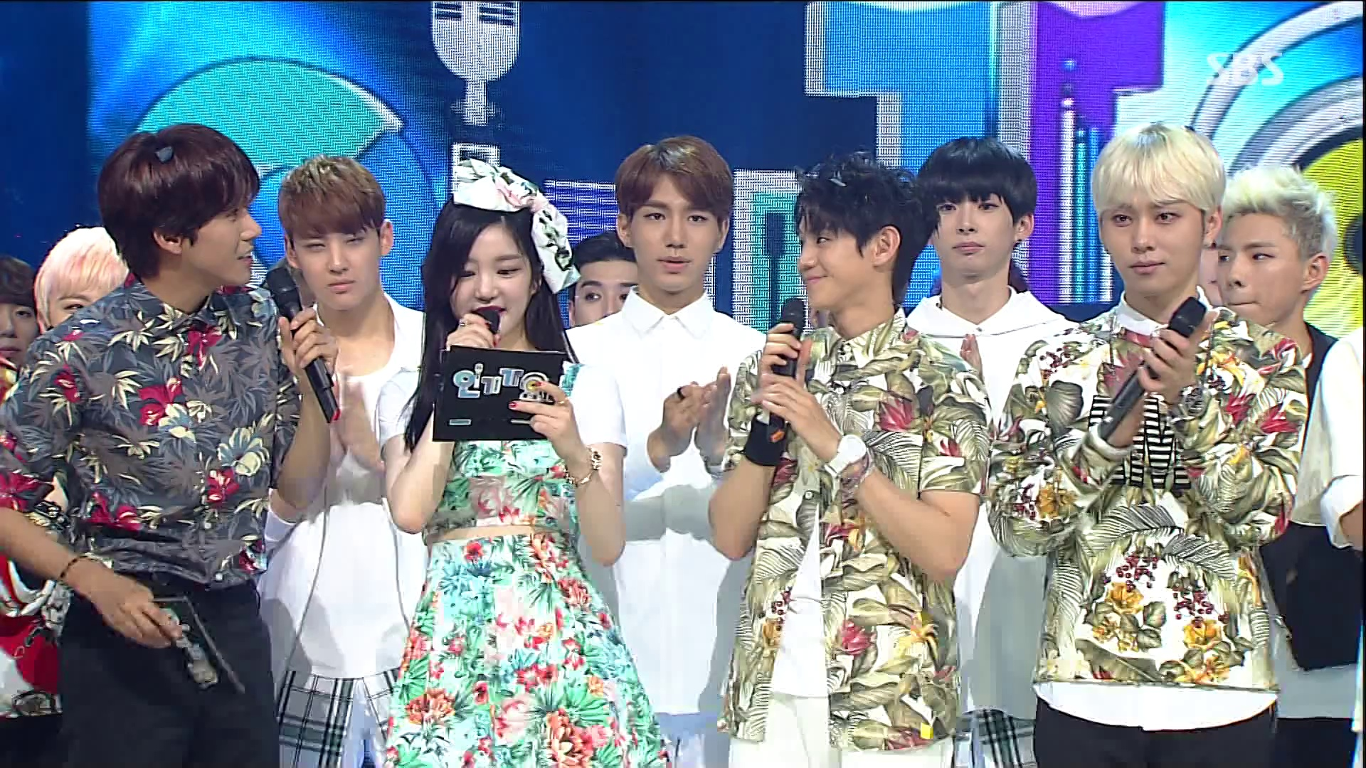 140706 Inkigayo MC cut + #1 result