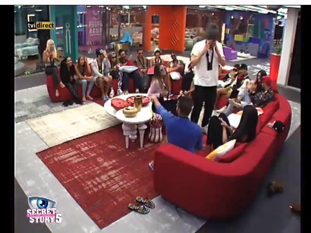 """Luis C dança o """"Creu"""" para Liliana Casa dos Segredos 5"""