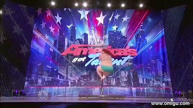 The Fat Pole Dancer on America's Got Talent