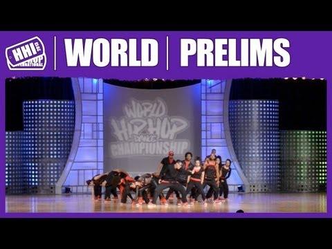 Yo! Hip Hop Dance Company – Brazil (MegaCrew) @ HHI's 2013 World Hip Hop Dance Championship