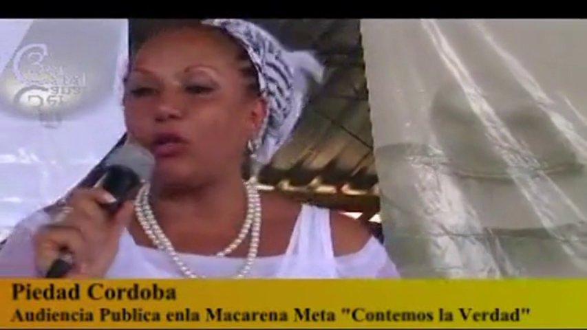 Piedad Córdoba destapa la fosa común mas grande de América latina en el gobierno de uribe