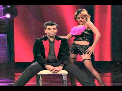 Karan Johar Gets Hot LAP DANCE In India's Got Talent 6 2015