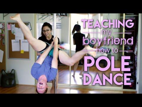 Teaching My Boyfriend How To Pole Dance