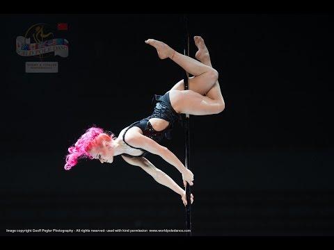Polina Volchek – RUSSIA – World Pole Dance Championships – Beijing, China