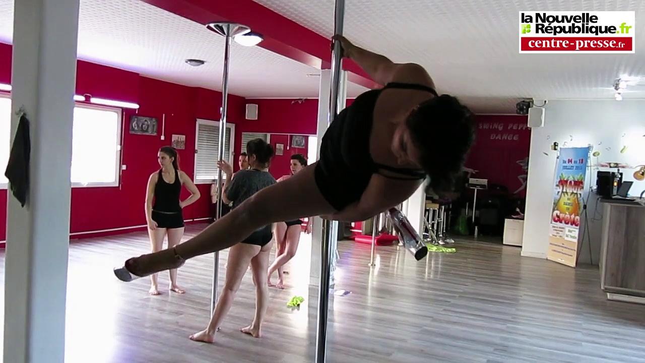VIDEO. A la découverte de la pole dance poitevine