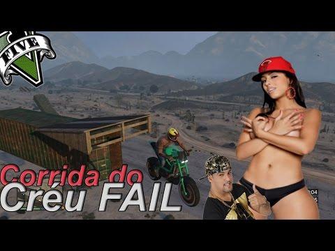 GTA V Online – A corrida do CRÉU Fail não Dado; Edição Marotez!