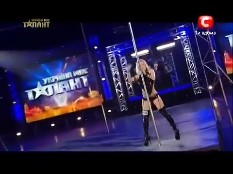 Pole Dance. Ukraine Got Talent – The worlds best pole dancer – Anastasia Sokolova