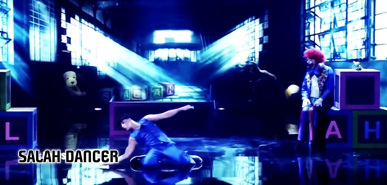 Salah The Entertainer – Arabs Got Talent Semi Final –  عرض النصف نهائيات #DANCE 10