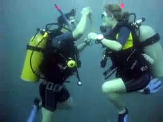 Singapore Salsa Dance Channel,Scuba Salsa Underwater,Starlinn Choo(Yanqing)