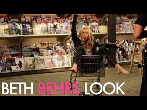 Lady Antebellum Downtown Music Video Look / Beth Behrs Makeup | Jamie Greenberg Makeup